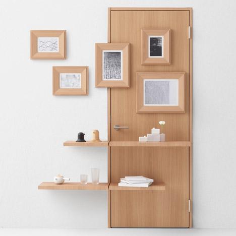 Seven doors by Nendo for Abe Kogyo