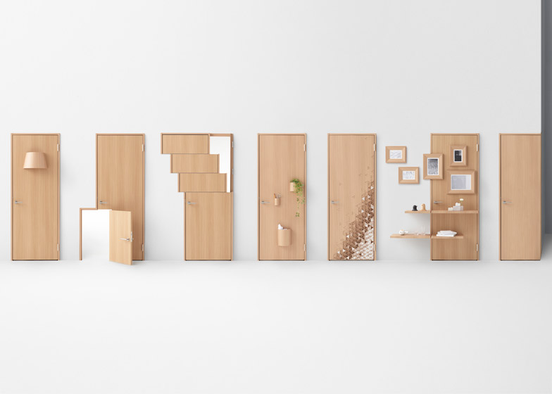 ... Seven doors by Nendo for Abe Kogyo & Nendo\u0027s door concepts include designs for wheelchair users