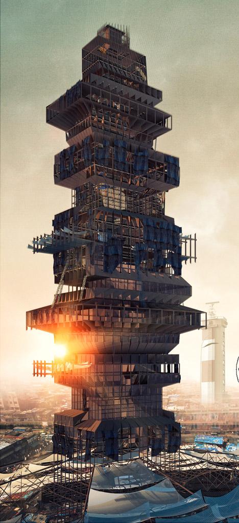 Shanty-scraper-Evolo-skyscraper-competition_dezeen_3