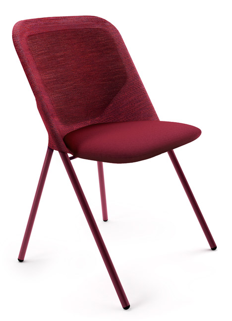 Shift Dining Chair Bright Red