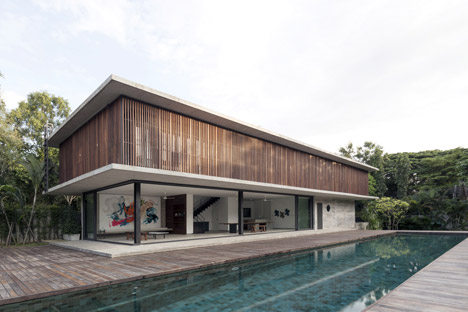 Swiss Tropical House by Architect Kiddd