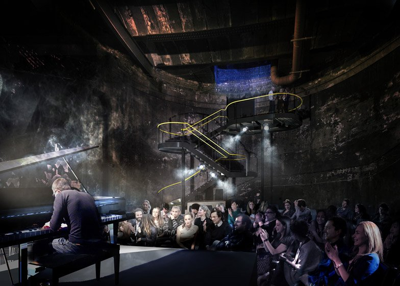 Tate Harmer to add venue to Brunel tunnel