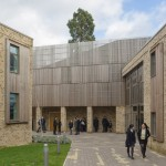 Hawkins\Brown finds musical references for timber-clad school recital hall