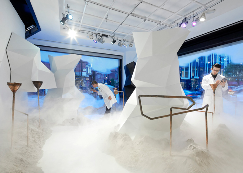 The Fragrance Lab at Selfridges. Photograph by Hufton + Crow