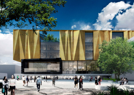 The New Central Library Christchurch by Schmidt Hammer Lassen Architects