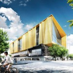 Schmidt Hammer Lassen designs new library for earthquake-damaged Christchurch