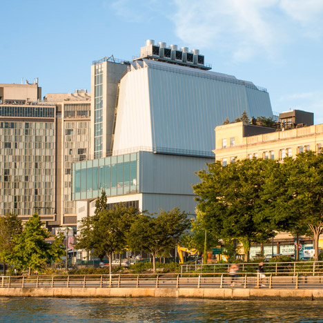 Renzo Piano's new building for<br /> the Whitney set to open