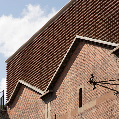 Gottlieb Paludan completes four contemporary brick additions to old industrial buildings