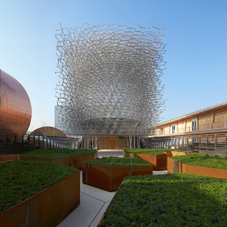UK Pavilion by Wolfgang Buttress for Milan Expo 2015
