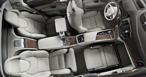 Volvo Unveils Luxury Car Interior Concept With Extra Legroom