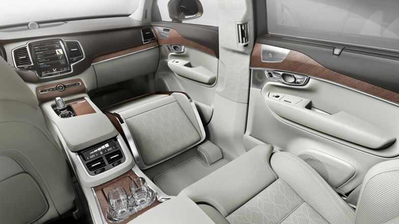 Volvo Unveils Luxury Car Interior Concept With Extra Legroom