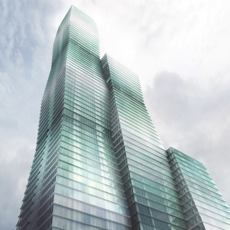 Studio Gang's riverside skyscraper could be Chicago's third tallest tower