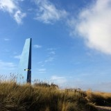 Angular seaside tower by Gruff and MSA contains a viewing platform that moves underfoot
