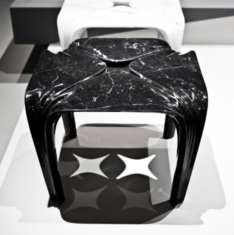 Quad Tables by Zaha Hadid for Citco
