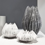 Zaha Hadid sculpts marble vases and tables for Citco