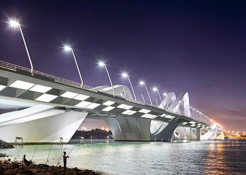 Sheikh Zayed Bridge, Abu Dhabi by Zaha Hadid Architects