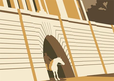 Dorothy Wembley Stadium poster Lost Destinations