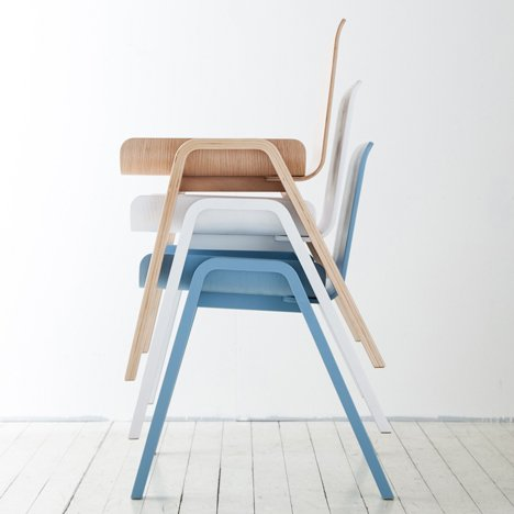 Seungji Mun's Economical Chair is designed to minimise waste