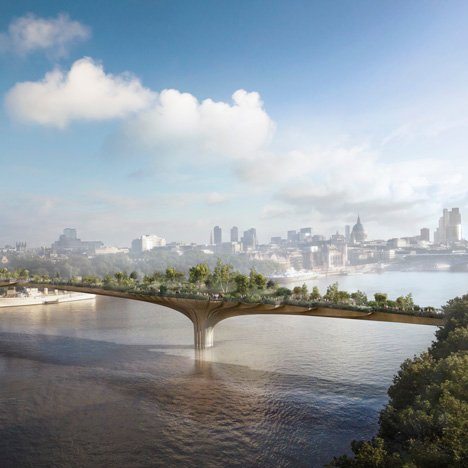 The Garden Bridge by Thomas Heatherwick