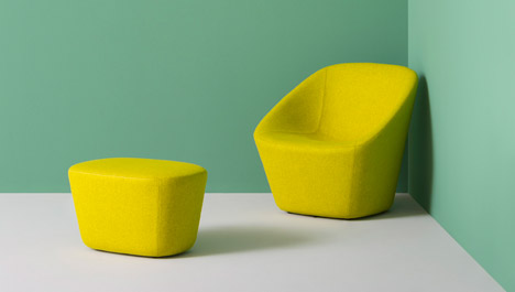 LOG Lounge and pouf by Pio e Tito Toso