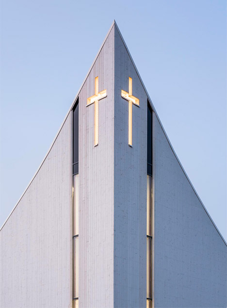 Ålgård Church by LINK Arkitektur