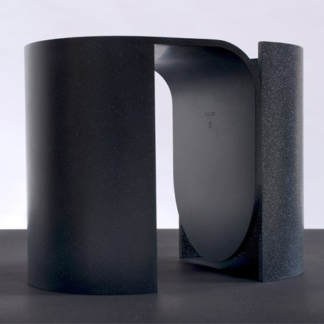 OS & OOS moulds synthetic stone to create Arc seating collection