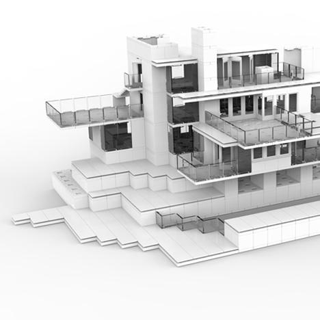 """Architect's modelling system hailed as """"posh Lego"""""""