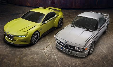 BMW 3-0 CSL Hommage concept car 2015_dezeen_14