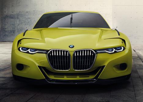BMW 3-0 CSL Hommage concept car 2015_dezeen_2
