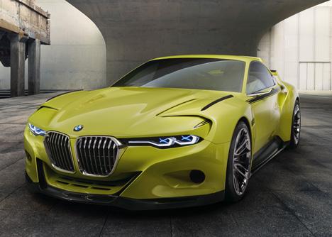 BMW 3-0 CSL Hommage concept car 2015_dezeen_3