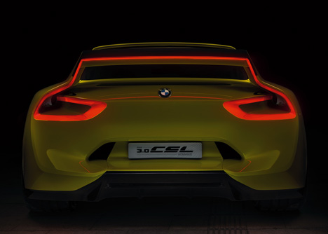 BMW 3-0 CSL Hommage concept car 2015_dezeen_5