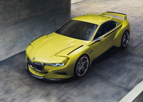 BMW 3-0 CSL Hommage concept car 2015_dezeen_7