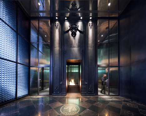 SOMs Baccarat Tower In New York Overlooks MoMAs