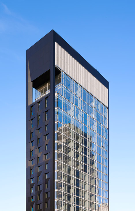 Som 39 s baccarat tower in new york overlooks moma for Design hotels nyc