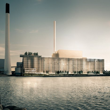 Biomass plant in Copenhagen by Gottlieb Paludan