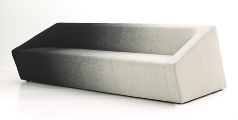 Blur sofa for Moroso by Marc Thorpe