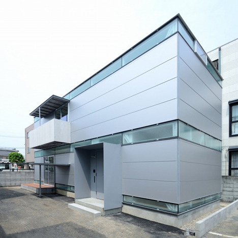 Niji Architects uses steel components to build factory-like Boundary House