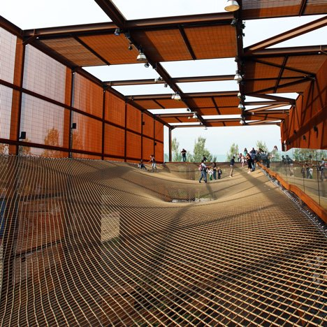 Brazil pavilion for the Milan Expo 2015