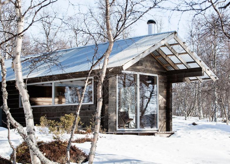 Cabin at Femunden by Aslak Haanshuus Arkitekter