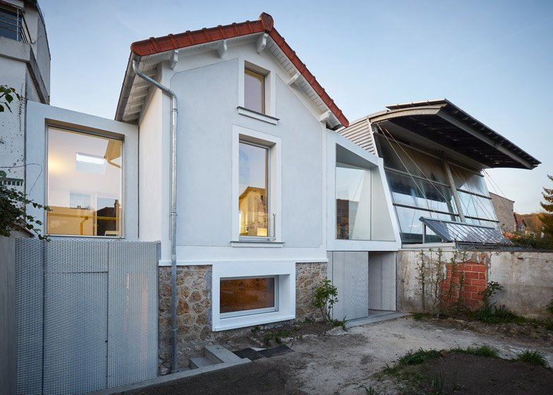 Chaville house extension part II by CUT Architectures