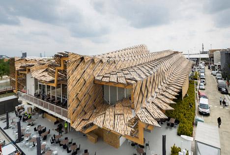 China pavilion by Studio Link-Arc and Tsinghua University photo Sergio Grazia