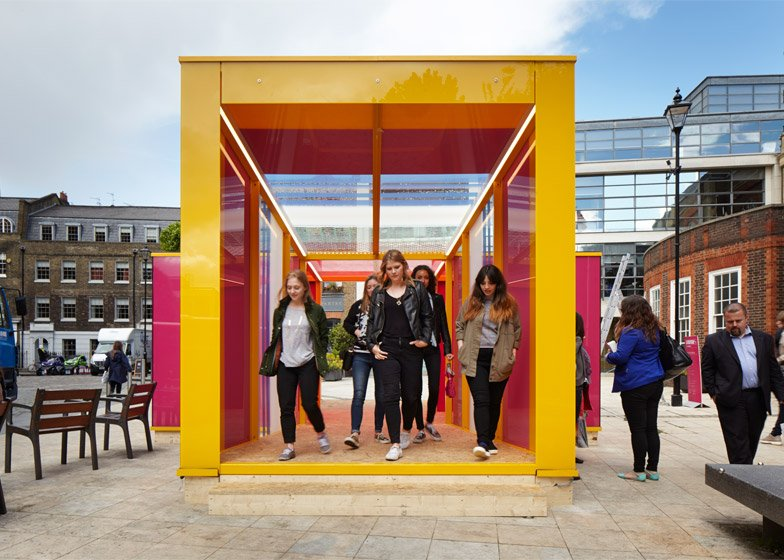 Clerkenwell Design Week 2015 pavilion by Cousins and Cousins