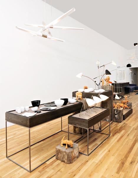 David Weeks showroom
