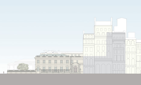 Davis Brody Bond proposed Frick Collection museum extension elevation