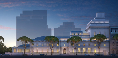 Davis Brody Bond proposed Frick Collection museum extension