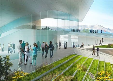 Diller Scofidio + Renfro's US Olympic Museum concept