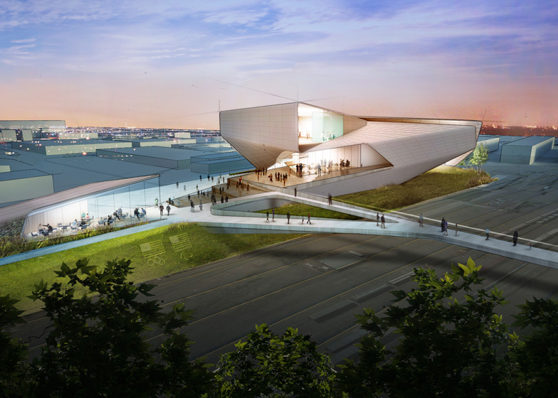Diller Scofidio + Renfro's US Olympic Museum concept