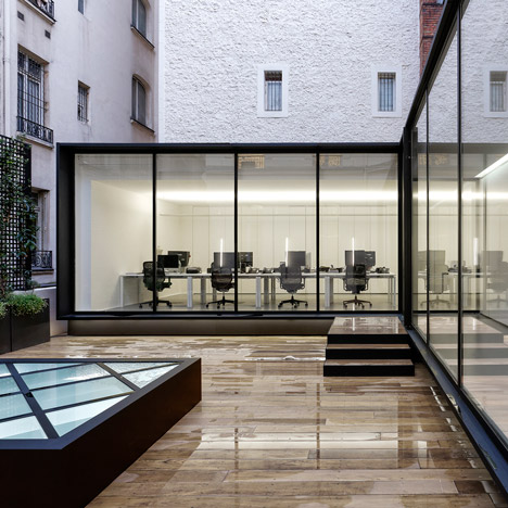 Dior Homme occupies extended Haussmann building by Antonio Virga Architecte