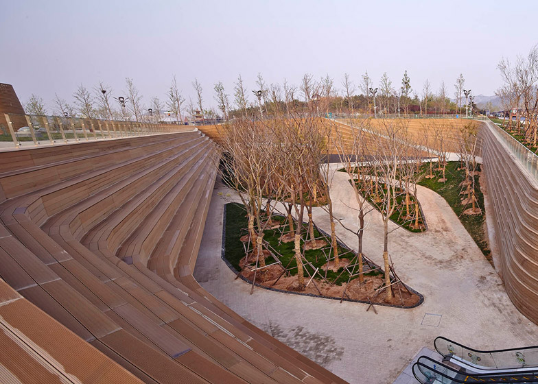 Earthly Pond Service Center of International Horticultural Exposition 2014 by HHD Fun