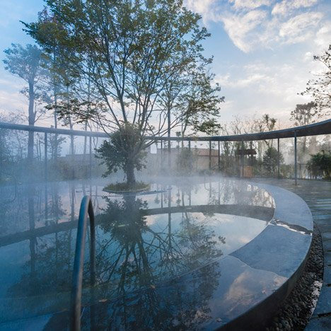 Aim Architecture constructs spa resort around hot springs in rural Sichuan